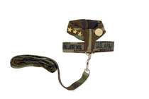 Camo Commando Harness & Lead
